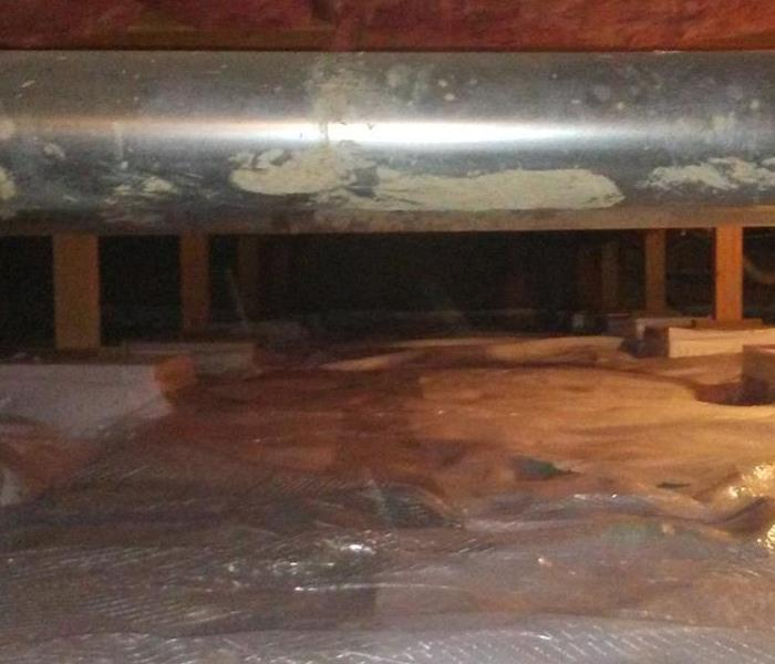 Montrose Mold Problems in a Crawlspace After
