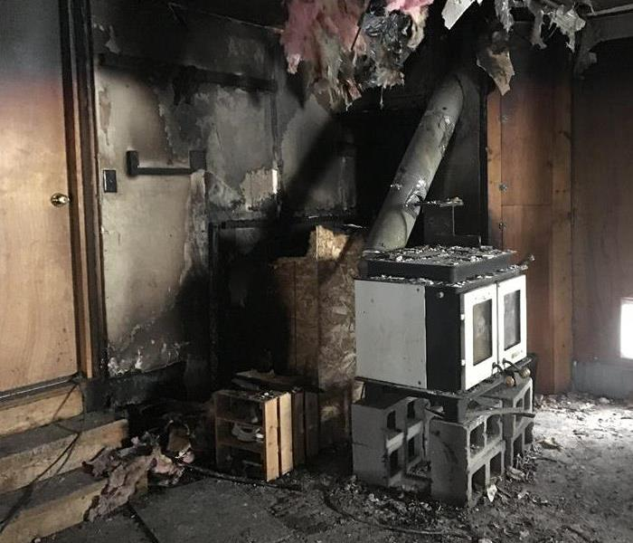Fire Damage How SERVPRO Removes Smoke Odors From Fire Damaged Apartments in Telluride