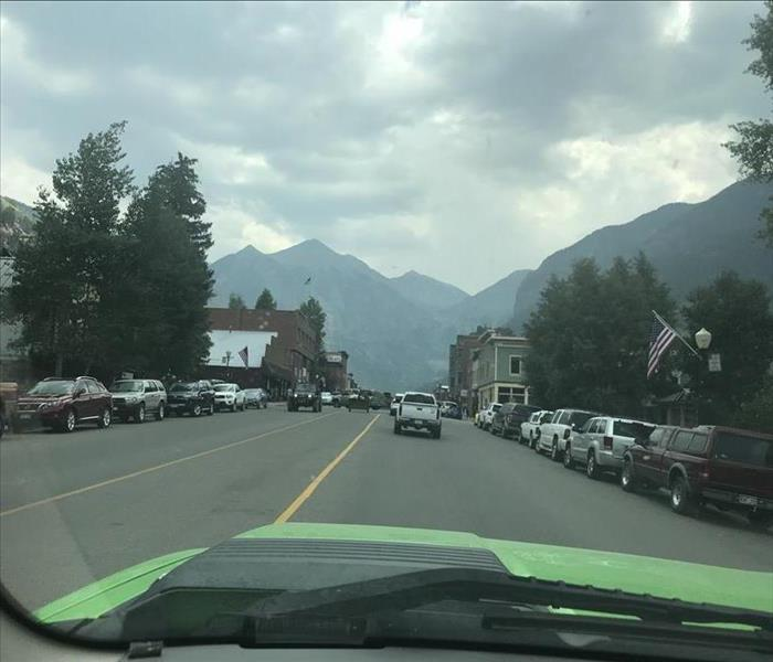 Commercial Telluride Shop Owners Know to Call SERVPRO for Fire Loss Mitigation