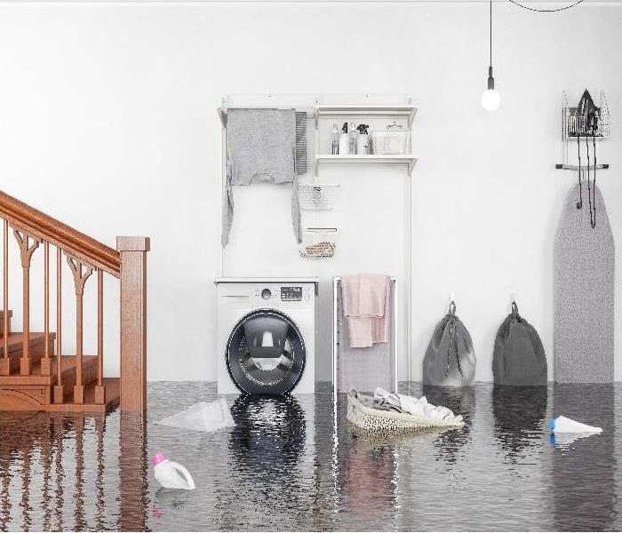 Laundry room Flooded